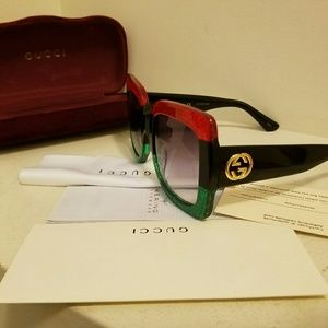 Authentic women kering GG0083S Gucci Sunglasses